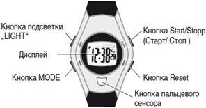 Продажа Пульсометров / шагомеров