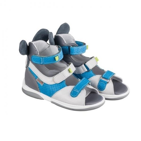73a592715 Детская ортопедическая обувь MEMO Kangaroo DRMC 3CH серо-синий ...