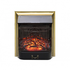 Электрокамин Royal Flame Majestic FX Brass/Black