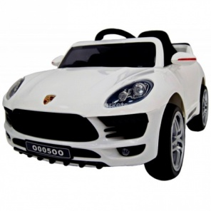 Электромобиль RiverToys Porsche Macan O005OO VIP белый