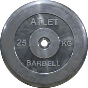 Диск MB Barbell MB-AtletB31-25